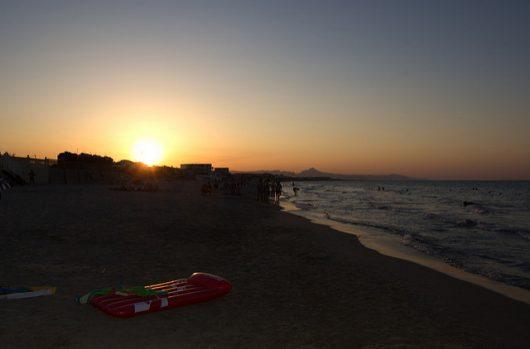 Les Deveses Beach